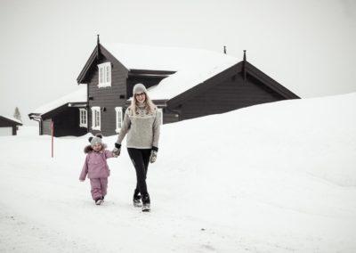 Lugn Skogfiol hytte på Sjusjøen